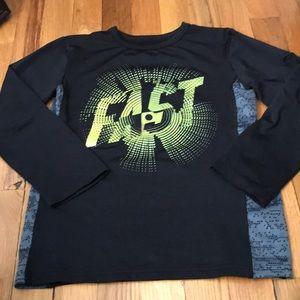 Long sleeve athletic top, size 5/6